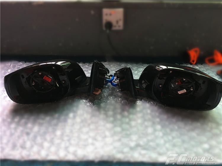 广州英菲尼迪Q50I加装360全景行车记录仪的图片